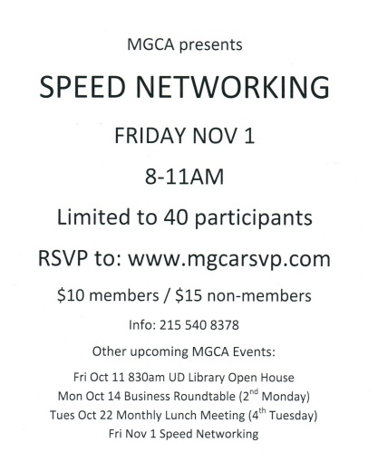 13 Speed Networking