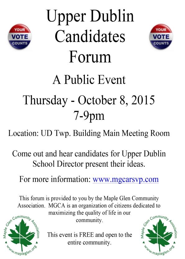 2015 UD Candidates Forum final
